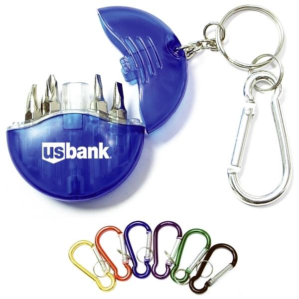 Mini 4-in-1 Screwdriver Tool Set Keychain