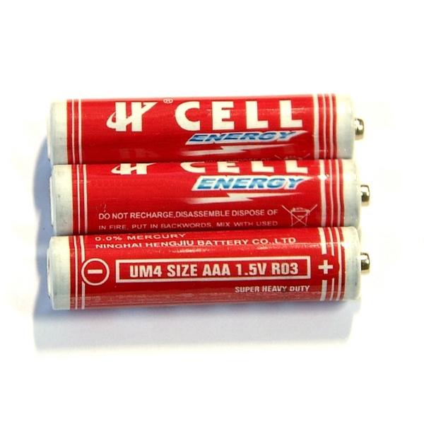 Heavy Duty AAA Alkaline Battery