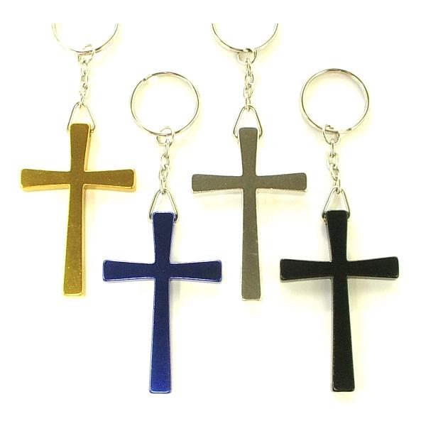 Cross shape key holder