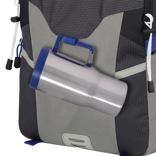 20 Oz. Carabiner Grip Stainless Steel Travel Tumbler
