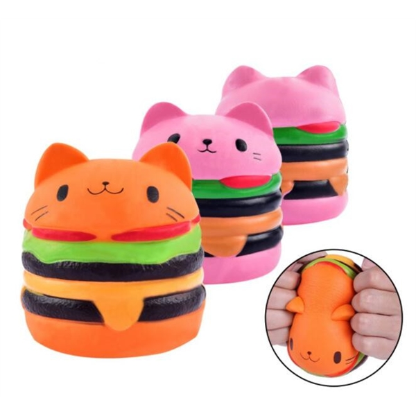 PU Stress Toy,Stress Relievers,Slow Rising Toy