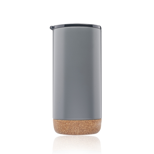 16 oz. Cork Bottom Travel Tumbler