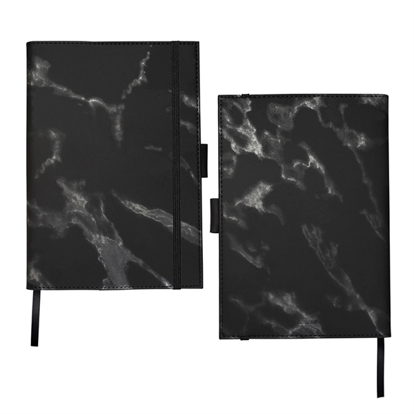 Leeman™ Medium Refillable Marble Journal