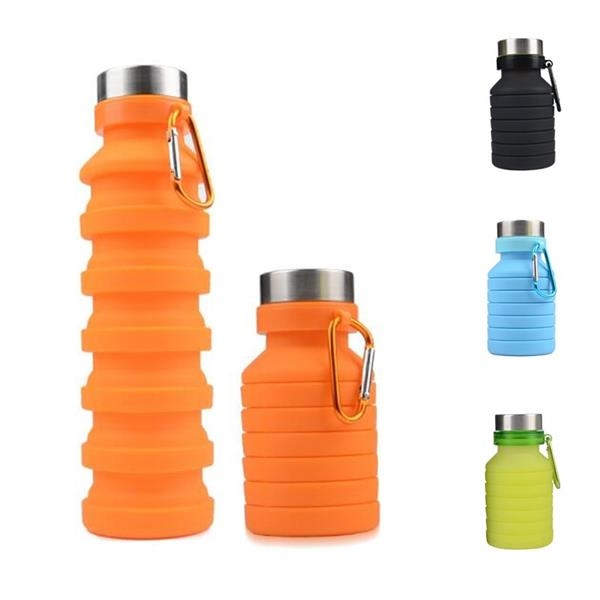 18.8 Ounce Collapsible Water Bottle