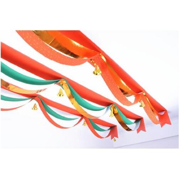 Christmas Wave Flag