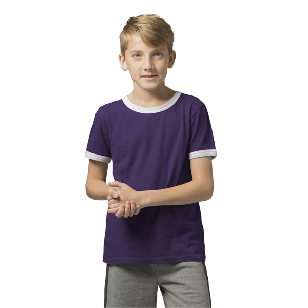 Boxercraft Youth Ringer T-Shirt