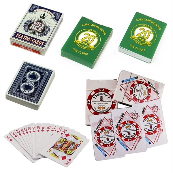 Full Color Printed Poker Playing Cards