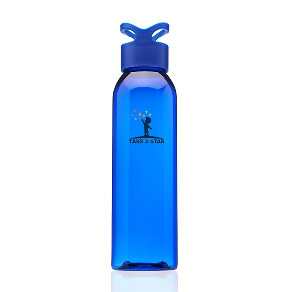 22 oz. Trainer Plastic Water Bottle