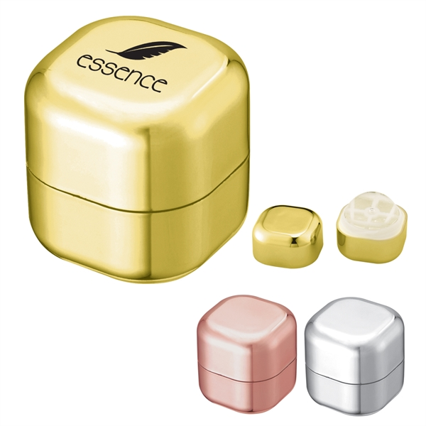 Metallic Lip Moisturizer Cube