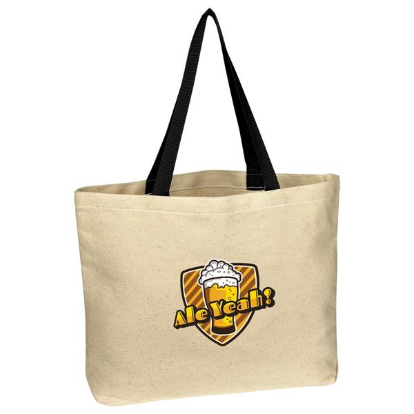 Natural Cotton Canvas Tote Bag