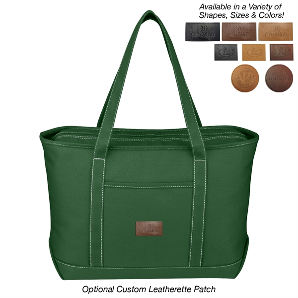 Large Cotton Canvas Yacht Tote