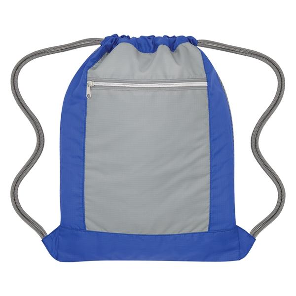 Flip Side Drawstring Sports Bag