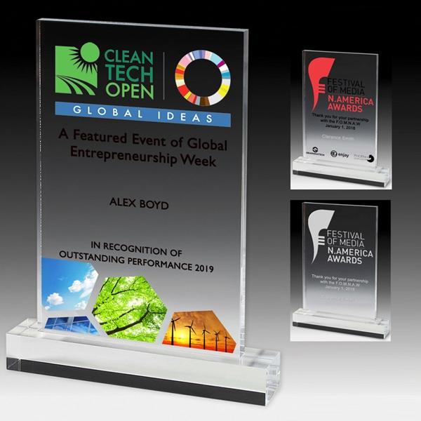 Elegant Rectangle Award