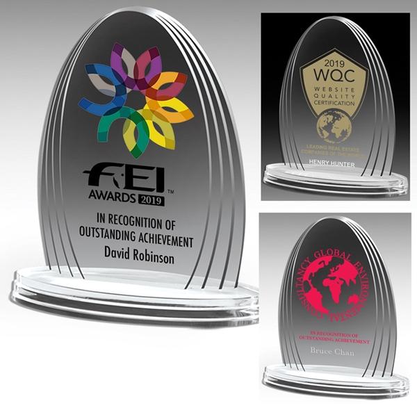 Oval Legend Award - 6 1/4