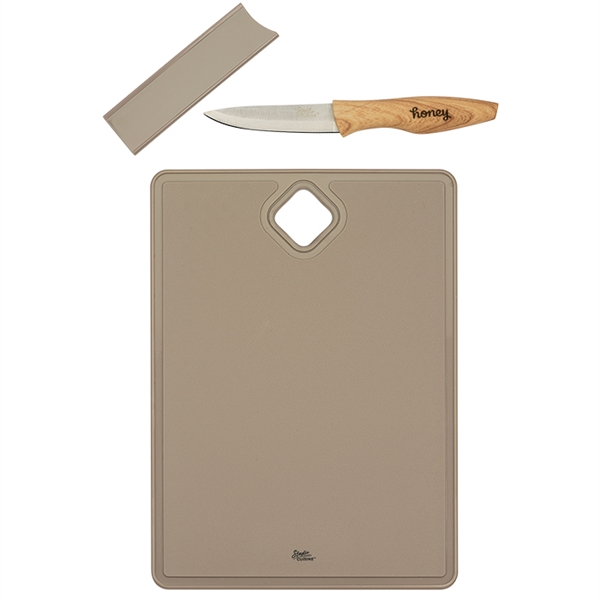 Studio Cuisine™ Cutting Board with Paring Knife