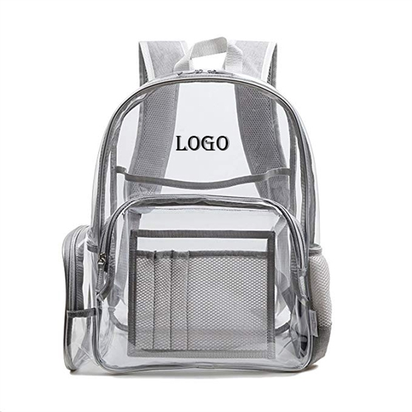Clear PVC Stadium Security Backpack