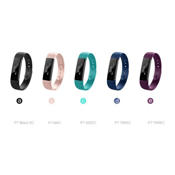 Bluetooth Smart Silicone Bracelet Pedometer /FitnessTracker