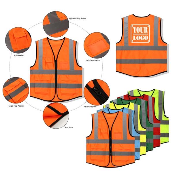 Safety Reflective Vest for Unisex