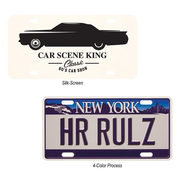 Custom License Plate 0.75
