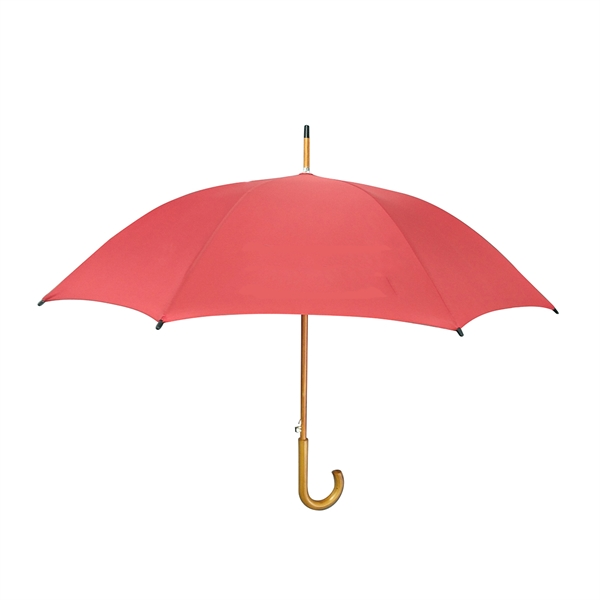 Classic Straight Umbrella with Wooden Handle