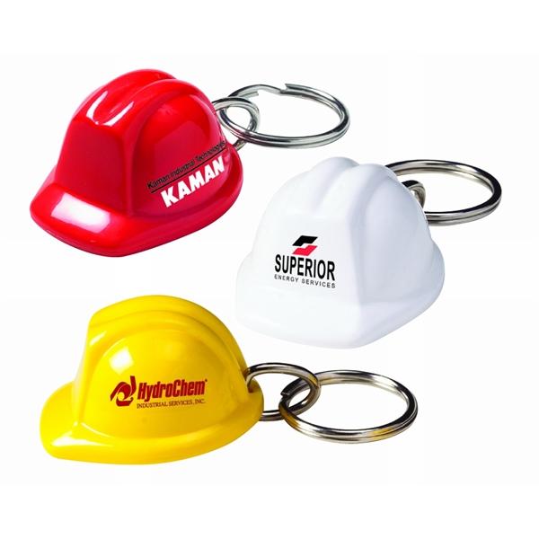 Hard Hat Keychain (Construction Helmet)