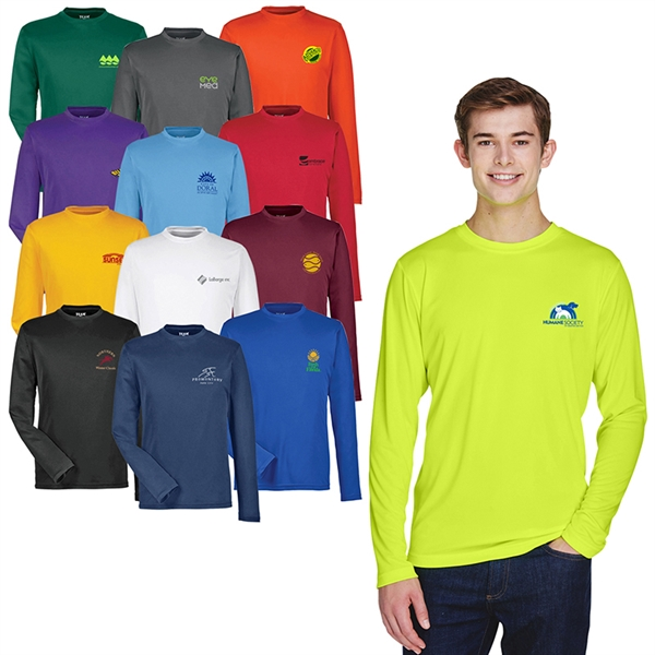 Team 365® Men's Zone Performance Long-Sleeve T-Shirt