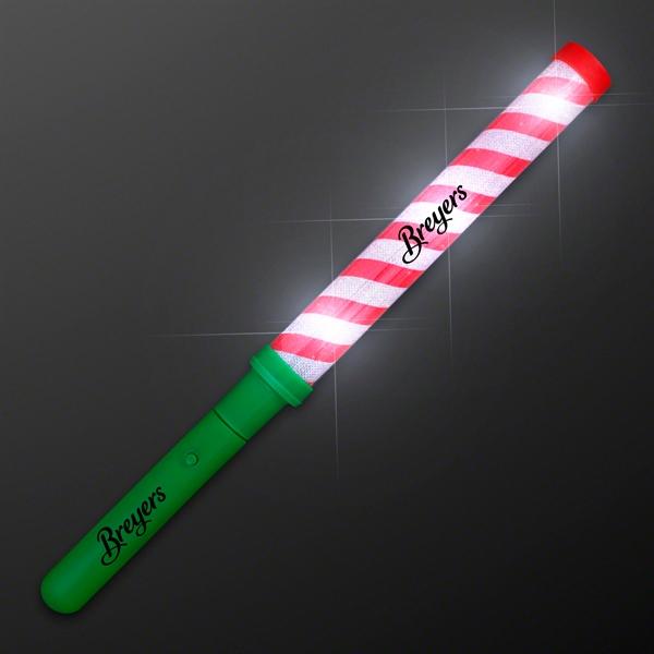 Candy Cane Lights Baton Stick