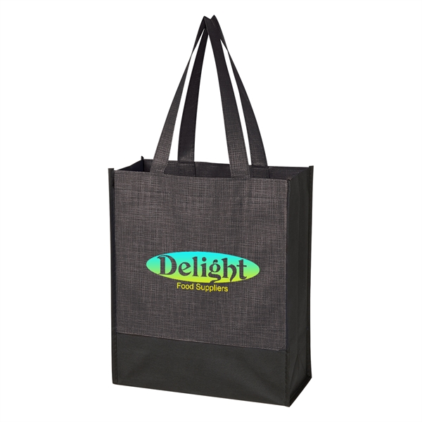 Crosshatch Mini Non-Woven Tote Bag