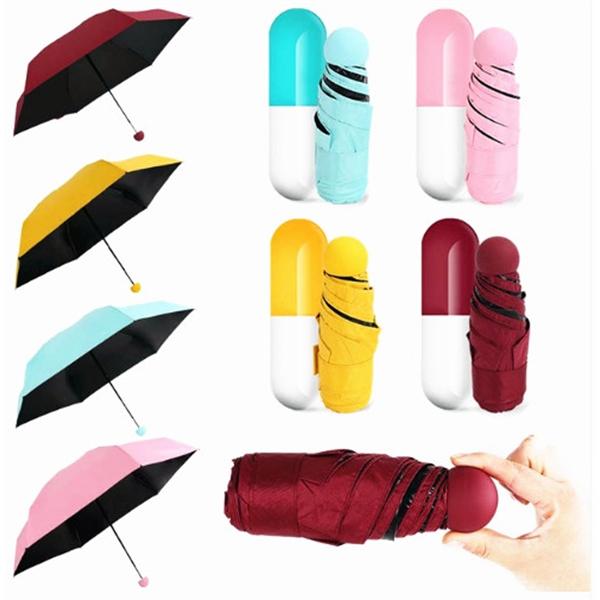 Cute Capsule Mini Pocket Umbrella