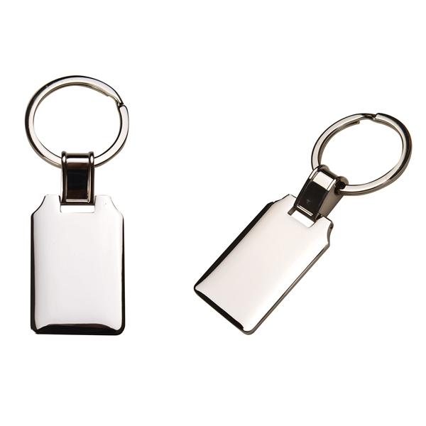 Premium Silver Metal Key Chain