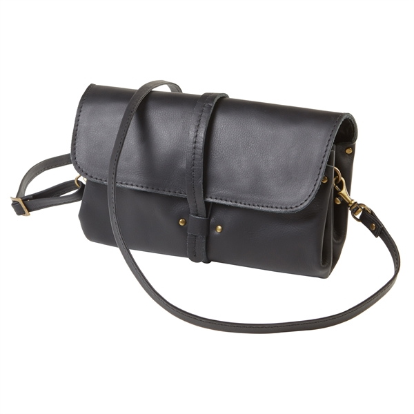 Sonoma Leather Accordion Wallet Crossbody