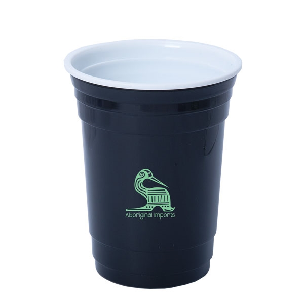 FESTIVAL GOER 500 ML. (17 OZ.) DOUBLE WALLED PARTY CUP