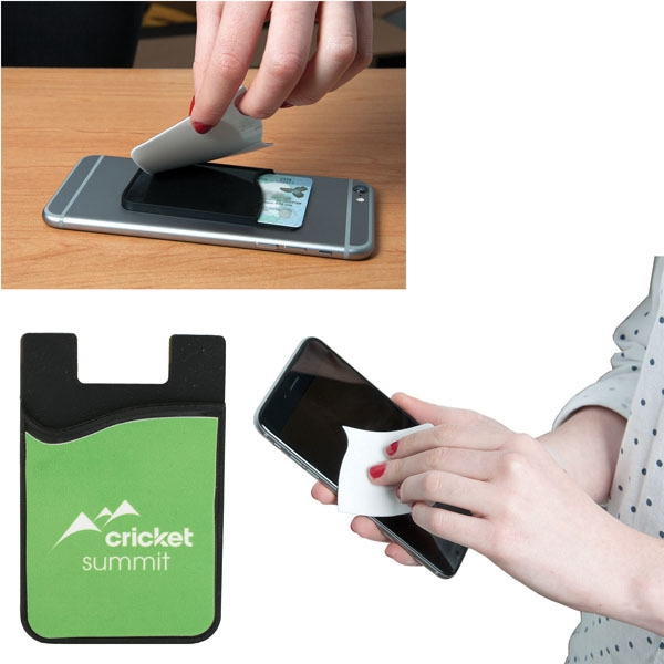 E-Z IMPORT™ SMART PHONE WALLET WITH SCRE