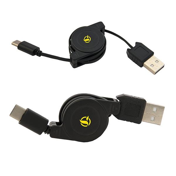 TRAVELLERS RETRACTABLE USB-C CHARGING CA