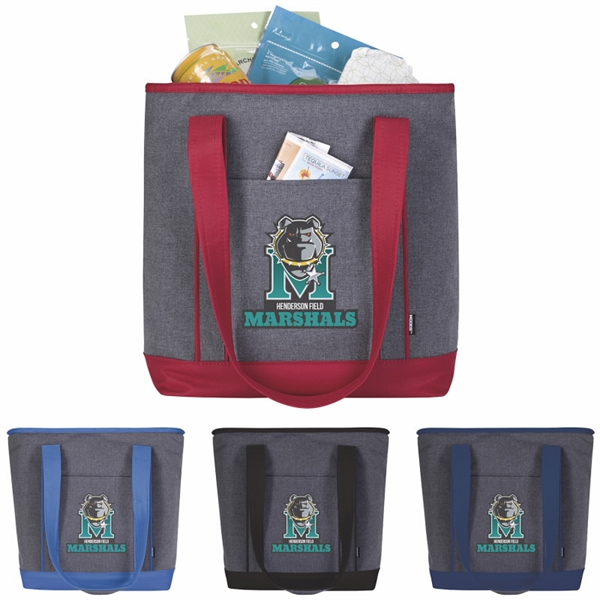 Koozie® Two-Tone Lunch-Time Kooler Tote