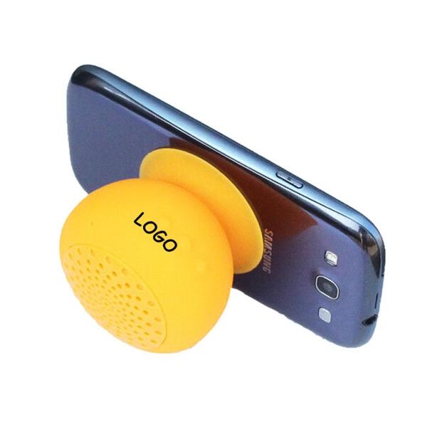 Silicon Mushroom Bluetooth Speaker