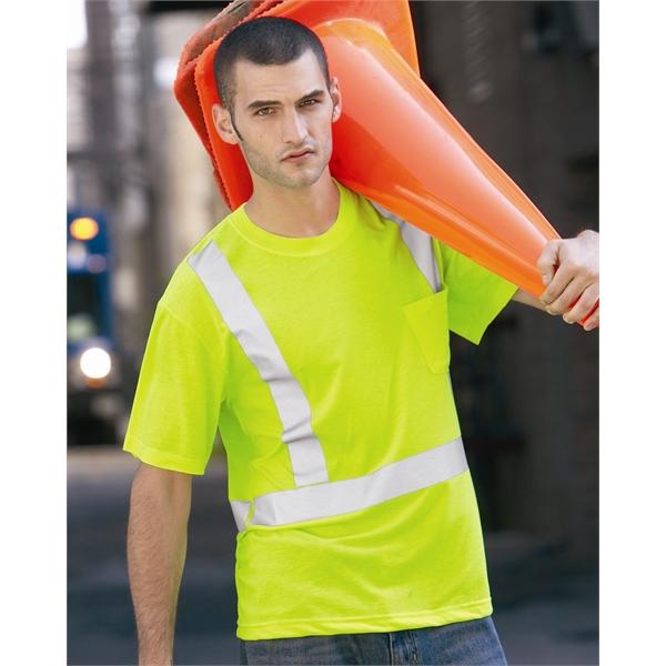 Red Kap High Visibility Safety T-Shirt