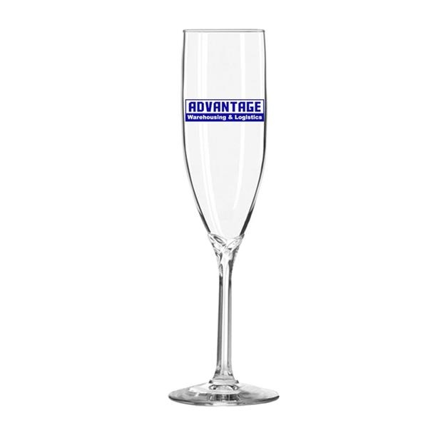 Flute champagne glass