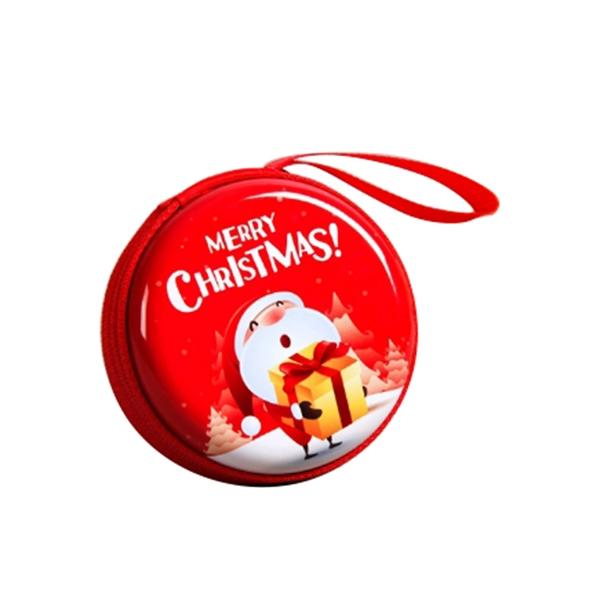 Christmas Tin Coin Purse
