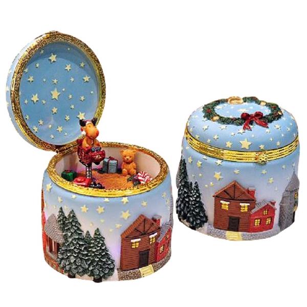 Glowing Christmas Music Box