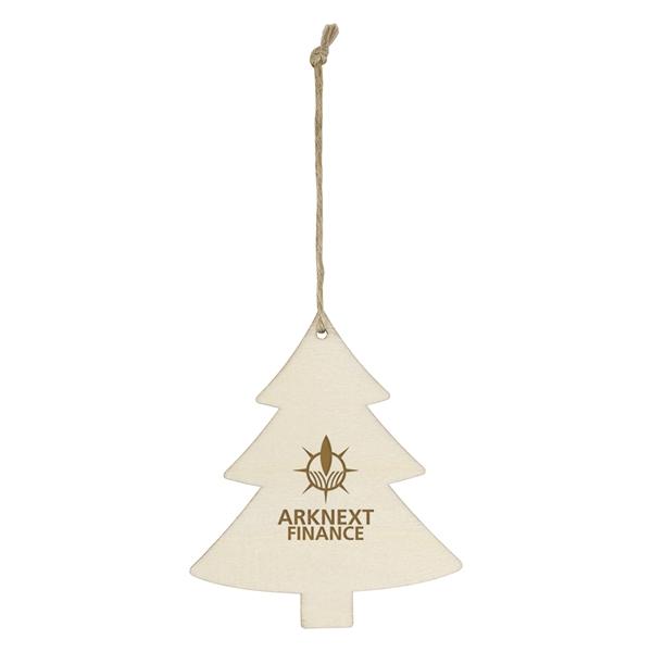 Wood Ornament - Tree