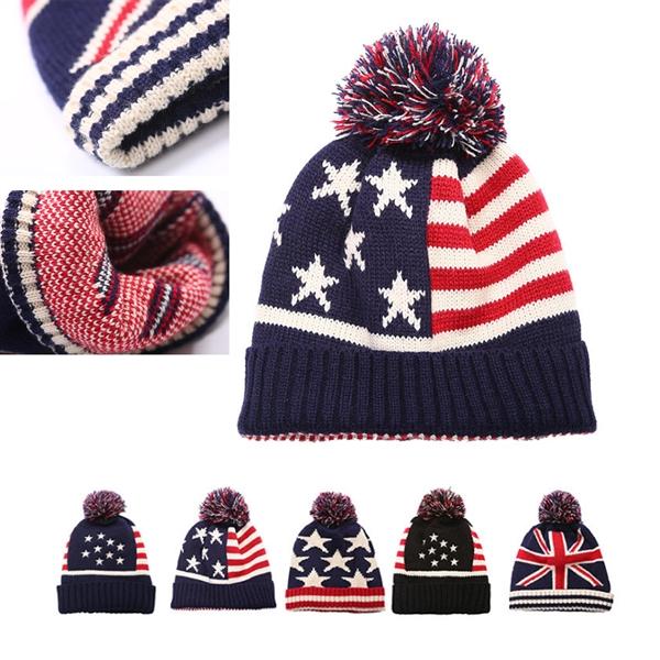 Patriotic Beanie Hat