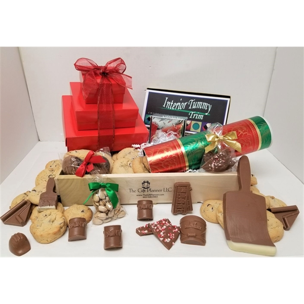 Painters Chocolate Gourmet Create-A-Crate Deluxe