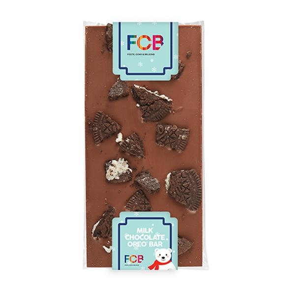 Elegant Belgian Chocolate Bar - 3.5 oz