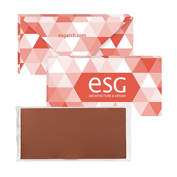 Executive Belgian Chocolate Bar - 3.5 oz