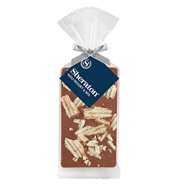 Belgian Chocolate Bar Gift Bag - Potato Chips