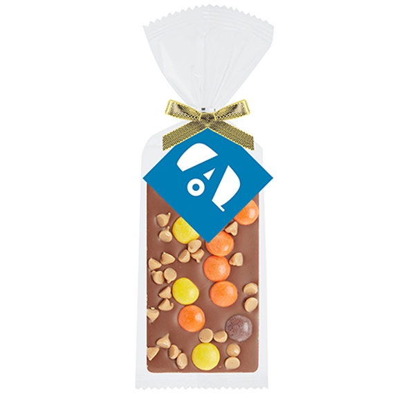 Belgian Chocolate Bar Gift Bag - Reeses® Pieces