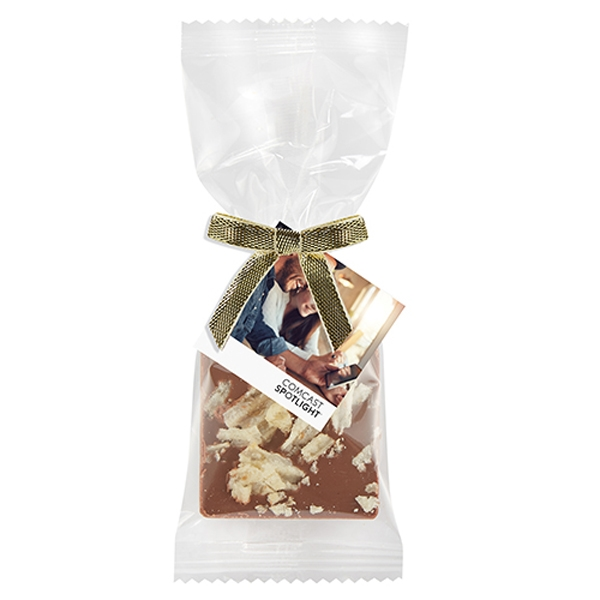 Bite Size Chocolate Square Gift Bag - Potato Chips