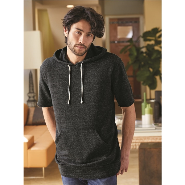 Alternative Eco-Fleece Baller Short Sleeve Hoodie