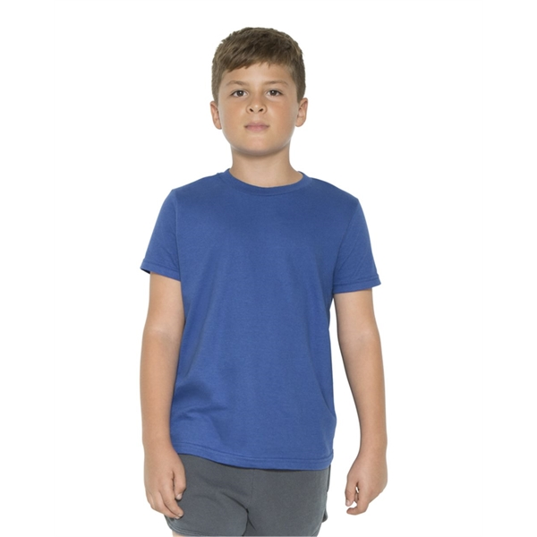 American Apparel USA-Made Youth Fine Jer